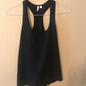 Black halter blouse